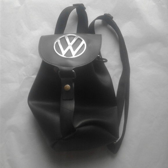 Little Earth Handbags - Volkswagen VW Purse Bag Recycled Rubber Backpack